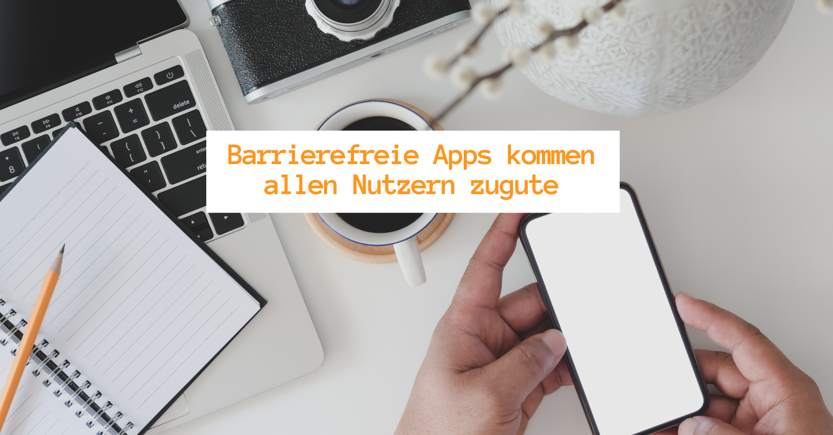 Barrierefreie Apps